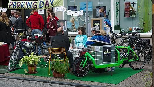 Adfc Parking Day In Lübeck